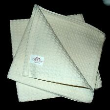 Gilden Tree Waffle Weave Facial Cloths (Cream) (Package of 2)