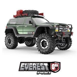 Redcat EVEREST-GEN7-PRO-GREEN Everest Gen7 PRO 1/10 Scale RC Scale Rock Crawler