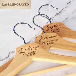 Personalised Coat Hanger, Bridesmaid Hangers, Bridal Dress Hanger,Wedding Hanger