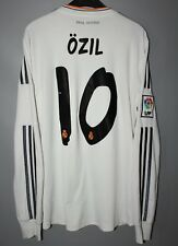 REAL MADRID SPAIN 2013/2014 HOME SHIRT JERSEY ADIDAS LONG SLEEVE #10 OZIL