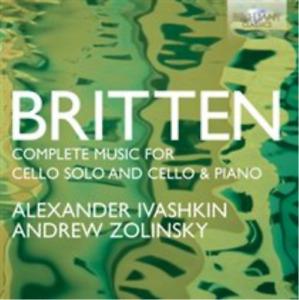 Britten: Complete Music for Cello Solo and Cello & Piano CD NUOVO