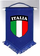 Italy Italian Italia Soccer Team National Flag Football Pennant