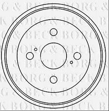 BBR7246 BORG & BECK BRAKE DRUM [ Rear Axle] fits Daihatsu Materia,Sirion 05-