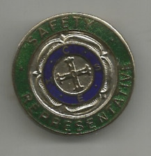 CONFEDERATION of HEALTH SERVICE EMPLOYEES SAFETY REP TRADE UNION BADGE