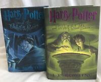 Set of 2 Harry Potter Bks 1st US Ed / Half Blood Prince & Order of the Phoenix