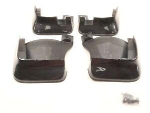 NEW OEM Honda Front & Rear Splash Guard Set Black 08P00-TL2-2D0 Acura TSX 11-14