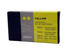 InkOwl 220ml YELLOW Compatible Cartridge for EPSON Stylus Pro 7880 9880
