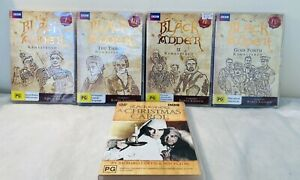 Black Adder : Series 1,2,3,4 + A Christmas Carol Blackadder Rowan Atkinson DVD