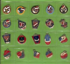 #T54. 20 Eastern Suburbs District Rugby Union Member'S Badges 1965 to 1985