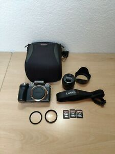 Panasonic Lumix dmc-G7 / G7K/ G70 ,4K Spiegellose Kamera, 14-42mm Objektivset