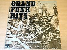 EX/EX- !! Grand Funk Railroad/Hits/1976 Capitol LP + Booklet/USA Issue