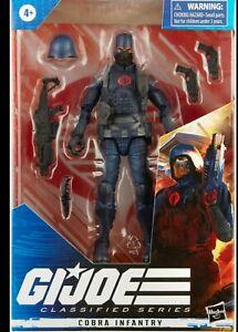 IN HAND STOCK Hasbro G.I. Joe Classified Series Cobra Infantry Action Figure New