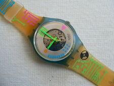 1990 Swatch watch Computrip - GN108 Never worn