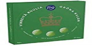 Fazer Vihreitä Kuulia - Green Jellies Beans (Pear)  500g *1 pack  17.6 oz