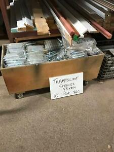 NEW STEEL TRAMPOLINE SPRINGS - Heaps available