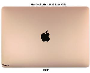 """Apple Macbook Air A1932 13.3"""" Retina Full LCD Screen Panel 2018 2019 Rose Gold"""