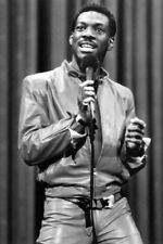 EDDIE MURPHY 24X36 POSTER LEATHER PANTS AND JACKET ON STAGE