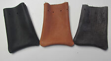 BISON AND  DEERSKIN LEATHER MARBLE BAGS