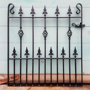 Single Garden Gates Wrought Iron Metal Steel Gate -3ft(914mm) Opening