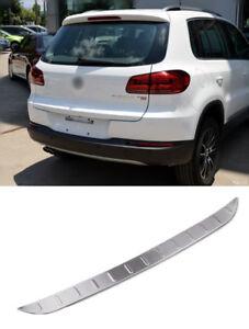 VW Tiguan 2009-2016 Boot Lid Rear Door Bumper Protector Guard Trim Cover Sill