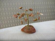 Small Miniature Stone Tree Decorative Ornament Figurine