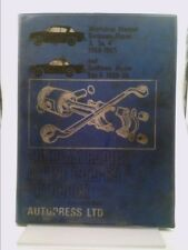 Sunbeam Rapier, Alpine 1959-69 Autobook by Ball, Kenneth