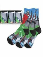 Lacrosse Socks 3 Pack (Large) with Lacrosse Design - Unisex
