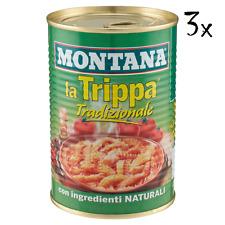Montana Trippa Tradizionale Kaldaunen 420 g Kutteln Fleisch in dose aus italien
