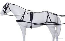Horse Nylon Driving Harness - Herculean - Fully Adjustable - Large Horse Size