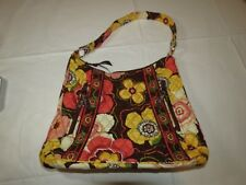 Vera Bradley hobo purse womens ladies purse bag Buttercup flowers retired