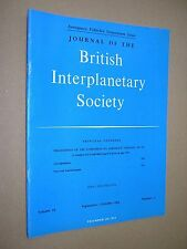 JOURNAL OF THE BRITISH INTERPLANETARY SOCIETY. SEPT-OCT 1964. VOL 19 No.11