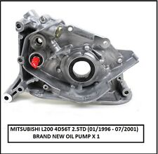 New Engine Oil Pump For Mitsubishi L200 - K74 - 2.5TD - 4D56T (01/1996- 07/2001)