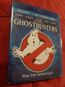 GHOSTBUSTERS (Blu-Ray + DVD-2 Disc Set) BRAND NEW! (FREE SHIPPING!) Bill Murray