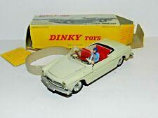 Dinky toys France 528 Peugeot 404 cabriolet Pininfarina 1/43