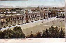 Mexico - Pre-1906 México - Palacio Nacional unused postcard