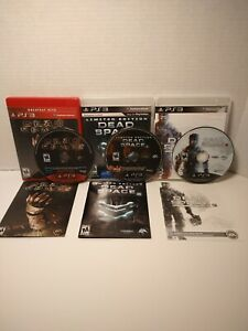 Dead Space Trilogy 1, 2 & 3 PlayStation 3 PS3 Three Game Lot Survival Horror