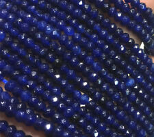 Natural 2x4mm Brazil Faceted Sapphire Abacus Gems Loose Beads 15''AAA +
