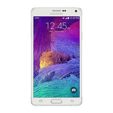 Samsung Galaxy Note 4 32GB AT&T Unlocked GSM 4G LTE Phone - White - New