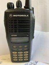 MOTOROLA GP580 403/470 MHZ 4 WATT TWO WAY WALKIE-TALKIE RADIOS MDH25RDH9GC6AE