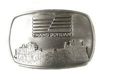 Trans Jordan Construction Equipment Étain Boucle Made In Canada 121415
