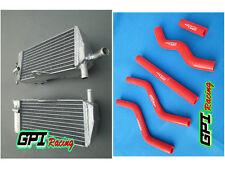 FIT Honda CR 125 R CR125R 2-STROKE 1989 89 aluminum radiator and hose
