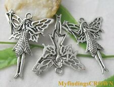 15pcs Tibetan Silver large fairy charms 39x50mm FC8038