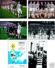 Celtic Lisbon Lions European Cup Winners POSTCARD Set