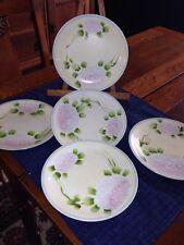 Nippon Hand Painted Plates, Jonroth Studios, Set Of 5