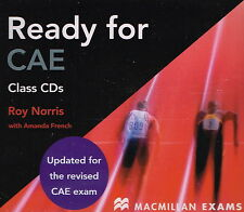 Macmillan Exams READY FOR CAE Class Audio CD's | Roy Norris @BRAND NEW@