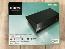Sony BDP-S1100 Internet Audio Video Player + Remote CD DVD BLU-RAY USB LAN HDMI