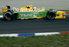 MARTIN BRUNDLE BENETTON B192 F1 Stagione 1992 foto 1
