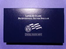 2004-P Lewis and Clark Uncirculated Commemorative Silver Dollar