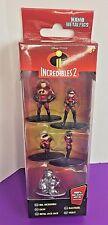 Nano Metalfigs Incredibles 2 Disney Pixar 5 Pack Die-Cast Metal Dash Violet Jack