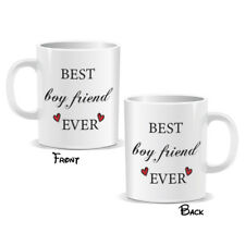 Best Boyfriend Ever Mug Novelty Lovers Couple Birthday Present Gift (MUGPN00197)